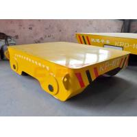 Wholesale Motorless 25t forklift towed rail transfer cart on turning rails from china suppliers