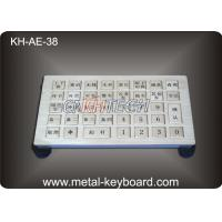 Wholesale Water proof Metallic Industrial Keyboards IP65 For Parkingcontrol system from china suppliers