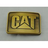 Wholesale Casting Pewter Custom Made Buckles Gold Plated , Cat Belt Buckle from china suppliers