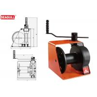 Wholesale 1 Ton Hand Lifting Winch With Brake / Handle Adjustment For Wharf from china suppliers