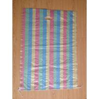 Wholesale woven shopping bag, colorful pp woven bag with handle, pp bag with die cut,pp shopping bag from china suppliers