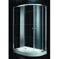 China 4mm Clear Curved Tempered Glass For Shower , Decorative , Low Emittance , 2440mmx3660mm on sale