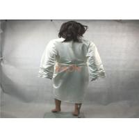 Wholesale Personalized Silk  Luxury Hotel Bathrobes Robes With two pocket from china suppliers