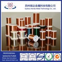 Wholesale Enameled Copper Clad Aluminum Wire for magnet wire, QA/Uew/Polyurethane from china suppliers
