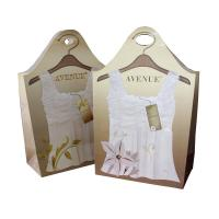 Wholesale Varnishing Gold Map Retail Paper Carrier Bags 35 X 28 X 10cm For Promotion from china suppliers