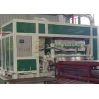 Quality Big Capacity Rotary Pulp Fruit Tray / Egg Tray Forming Machine With Multi Layer Dryer for sale