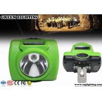 Wholesale Customzied Green Colour Explosion Proof OLED Cordless Mining Cap Lights from china suppliers