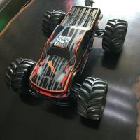 Chassis Metal Off Road Electric RC Car 80A ESC With 80km / H Speed , Black Color
