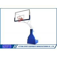 Buy cheap Spring Assisted FIBA Standard Full Size Basketball Stand from wholesalers