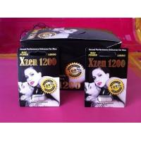 Wholesale Xzen 1200 Penis Growth Permanent Male Enhancement Pills Without Side Effects from china suppliers