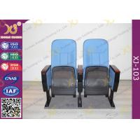 Wholesale Fabric Padder Prayer Seat Stacking Church Hall Chairs With Tablet And Book Rack from china suppliers