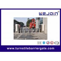 Wholesale 600mm Wing Adjustable Pedestrian Turnstile Gate / Automatic Swing Gate Turnstile from china suppliers