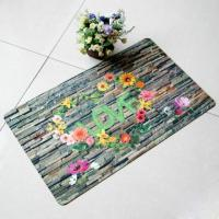 Wholesale Customized Rubber Floor Carpet Rectangular For Bedroom Decoration from china suppliers