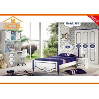 Buy mdf cheap children storage twin bunk bed with trundle - Children bedroom furniture cheap ...