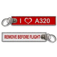 Wholesale I Love A320 Crew Baggage keychains from china suppliers