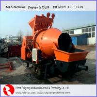 Wholesale Electric 30m3/h Portable Trailer Mounted Cement Mini Concrete Mixer Pump Price For Sale from china suppliers