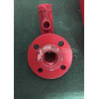 Red / Sliver Steel Flange Fire Fighting Accessories Connecting Pipe