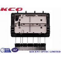 Wholesale FTTH Drop Cable Fiber Optic Splice Closure For 1x8 Splitter KCO-GJS08 3 inlet 3 outlet from china suppliers