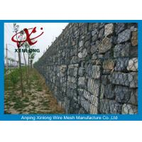 Wholesale Decorative Gabion Wire Mesh / Gabion Wall Fence For Protecting Dam from china suppliers