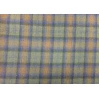 Wholesale 570 G/M Tartan Upholstery Fabric Soft , 70% Wool Blend Fabric Durable from china suppliers