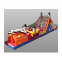 Wholesale Exciting Hand Painting Rock Inflatable Obstacle Course Sports Recreation City from china suppliers