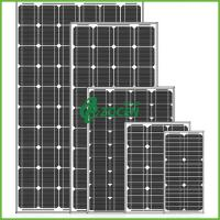 Wholesale High Performance 80W 18V Sharp Monocrystalline Solar Panels Black from china suppliers