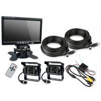 "Wholesale HD Waterproof IP67 Rugged Truck Trailer Reverse Camera With Colour 7"" LCD Monitor from china suppliers"