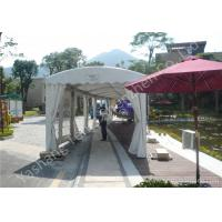 Wholesale 4M UV Resistant PVC Fabric Outdoor Exhibition Tents , Waterproof Aluminum car show tent from china suppliers
