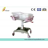 Wholesale New Born Metal And Plastic Hospital Baby Bed,Baby Crib Bassinet With Caster (ALS-BB01) from china suppliers