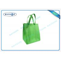 Wholesale eco promotional long handle pp non woven cooler bag with zipper from china suppliers