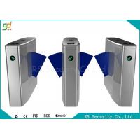 Wholesale Bi-Directional Wide Lane Flap Barrier Gate With IR Sensor And Anti-pinic from china suppliers