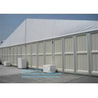 Wholesale 1000 Sqm Sandwich Hard Wall Aluminum Frame Roof Cover Warehouse Storage Tent from china suppliers