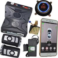 Buy cheap Cell Phone Car Alarm Security System With Gps Location Sms Central Lock Start Stop Engine from wholesalers