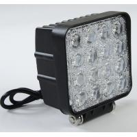 Wholesale Square LED Truck Work Lights , 48 Watt LED Auto Car Head Lights 4*4 LEDs IP 67 from china suppliers