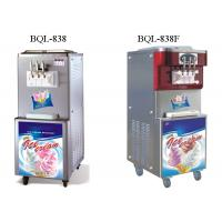 Wholesale Commercial Soft Serve Ice Cream Machine , Floor Standing Soft Ice Cream Maker from china suppliers