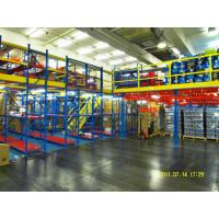 Wholesale Powder Coat Steel Rack Supported Mezzanine For Distribution Center from china suppliers