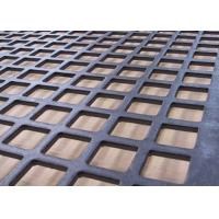 Wholesale Fence Anti Corrosion Square Perforated Metal Durable Numerous Functional from china suppliers