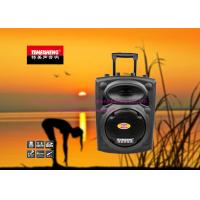 Wholesale Plastic Portable Outdoor Active Speakers with Trolley , Wireless PA Speakers from china suppliers