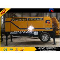 Wholesale Electric Trailer Pump Concrete Equipment 0.6/1400 M3/Mm Feeding Height from china suppliers