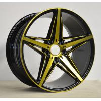 Wholesale Black 18 Inch Alloy Wheels 15-42 ET KIN-5047 With Machine Cut Face from china suppliers