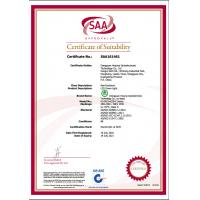 Dongguan Hejump Optoelectronic technology Co.,LTD Certifications
