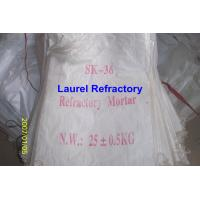 Wholesale Unshaped Refractory Mortar Series , Basic / Acidic Refractories from china suppliers