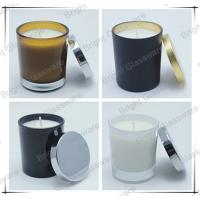 Wholesale luxury design candle holder, candle container with metal lid sale in USA from china suppliers