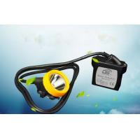 Wholesale 7800mAh rechargeable li - ion battery LED Mining Headlamp portable with low power indication from china suppliers