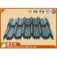Quality Pre Painted Zinc Metal Corrugated Roofing Sheets Waterproof 0.23 - 1.2mm Thickness for sale