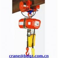 Wholesale 380V HHXG electric chain hoist with trolley from china suppliers