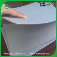Wholesale Recycled material paper board hard smooth surface grey board for book cover from china suppliers