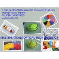 Wholesale TOP 4 Manufacturer green or yellow chemical powder for optical brightener masterbatches from china suppliers