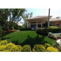 Buy cheap Waterproof Artificial Turf Grass For Garden Decorative 35mm Diamond Shape from wholesalers