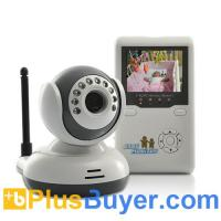 Wholesale Wireless Baby Monitor with AV OUT, Two Way Audio & Night Vision from china suppliers